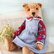 Куклы и игрушки ручной работы. Ярмарка Мастеров - ручная работа Мишка тедди Роза. Handmade.