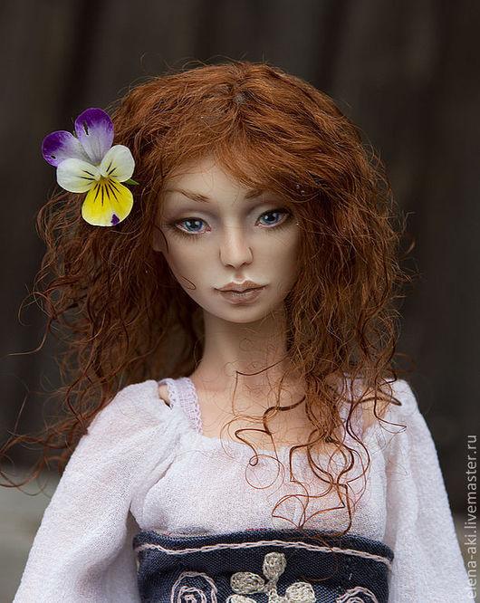 Коллекционные куклы ручной работы. Ярмарка Мастеров - ручная работа. Купить Мария (8/20). Handmade. Белый, подарок женщине