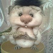 """Куклы и игрушки ручной работы. Ярмарка Мастеров - ручная работа Сувенир """"Хомяк"""". Handmade."""