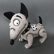 Куклы и игрушки ручной работы. Ярмарка Мастеров - ручная работа Собачка Спарки Sparky. Handmade.