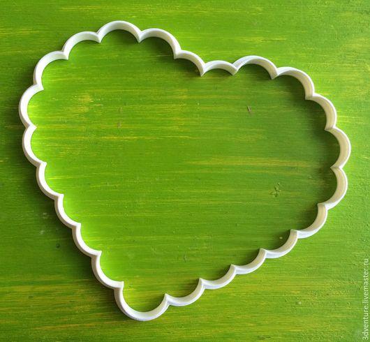 Кухня ручной работы. Ярмарка Мастеров - ручная работа. Купить Форма для печенья Рамка Сердце. Handmade. Разноцветный, формочка для печенья