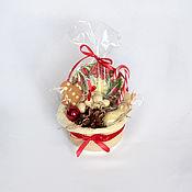 Год Крысы ручной работы. Ярмарка Мастеров - ручная работа Шоколадный  Мини подарок на новый год арт. 2-008. Handmade.