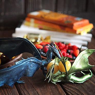 Куклы и игрушки ручной работы. Ярмарка Мастеров - ручная работа Драконы из кожи подвижные. Домашние хранители. Handmade.