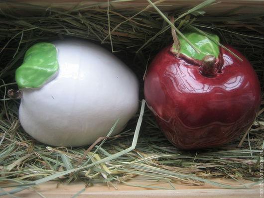 Кухня ручной работы. Ярмарка Мастеров - ручная работа. Купить яблоко. Handmade. Белый, надежда раниш