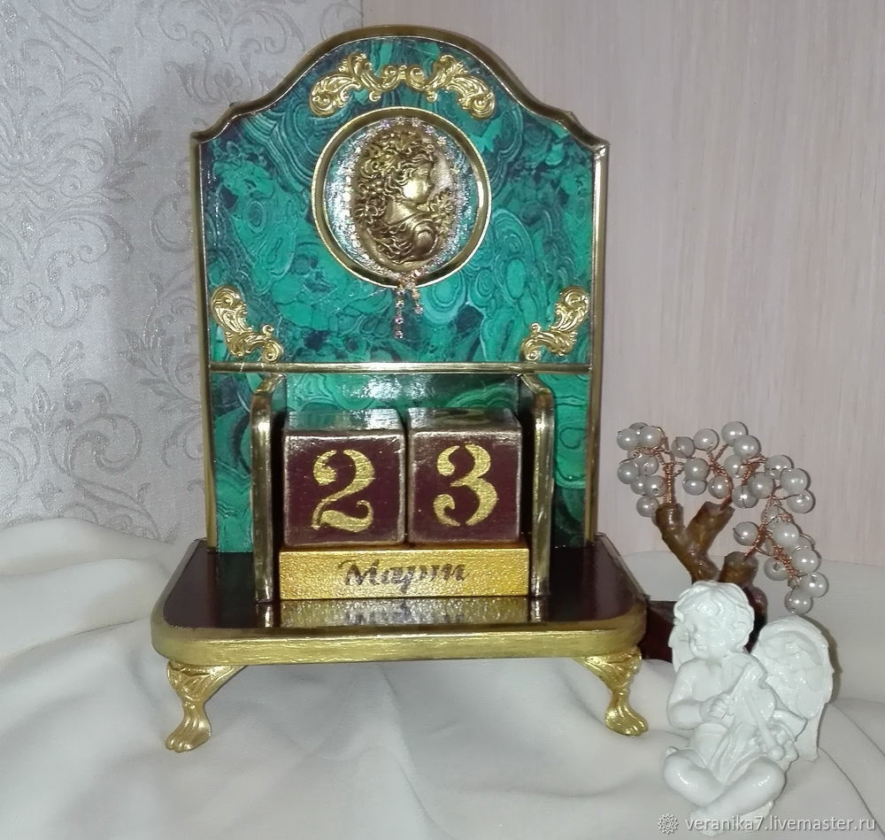 Calendar ' Malachite', Calendars, Blagoveshchensk,  Фото №1