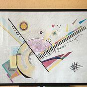 """Картины и панно ручной работы. Ярмарка Мастеров - ручная работа Картина """"Кандинский"""", пастель, 85х60 (в раме). Handmade."""