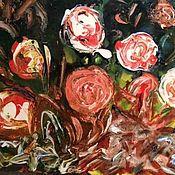 Картины ручной работы. Ярмарка Мастеров - ручная работа Розы. Handmade.