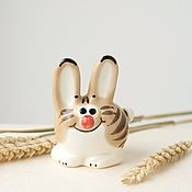 Для дома и интерьера handmade. Livemaster - original item CatRabbit - two in one. Handmade.