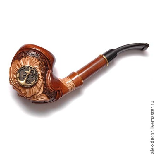 Подарки для мужчин, ручной работы. Ярмарка Мастеров - ручная работа. Купить Курительная трубка Estupedo-E11070-17. Handmade. Трубка