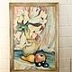 Лилии в кувшине. Натюрморт.Авторская картина маслом ручной работы из серии ` Таинственный сад`.  Сказка в теплоте рук Коневой Алёны. Ярмарка мастеров.