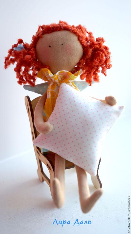 Куклы Тильды ручной работы. Ярмарка Мастеров - ручная работа. Купить Солнечный Ангел для солнечной девочки. Handmade. Принцесса на горошине