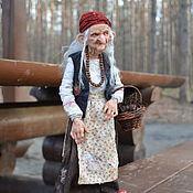 Портретная кукла ручной работы. Ярмарка Мастеров - ручная работа Баба-Яга. Handmade.