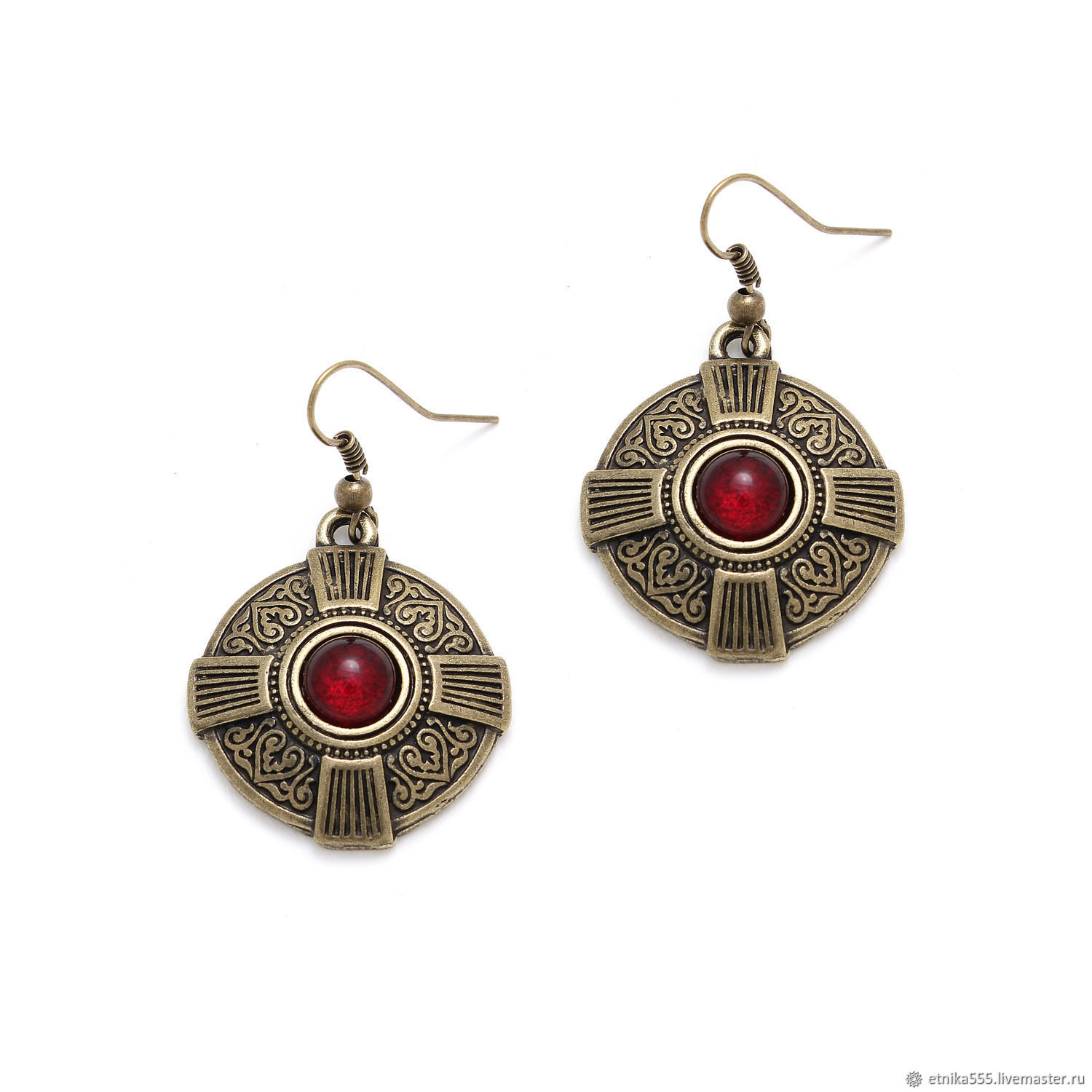 bcbe9a60f Charisma earrings bronze. Etnika workshop. Online shopping on My Livemaster.
