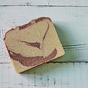 Косметика ручной работы. Ярмарка Мастеров - ручная работа Арбузное с красной глиной и ряженкой Натуральное мыло с нуля. Handmade.