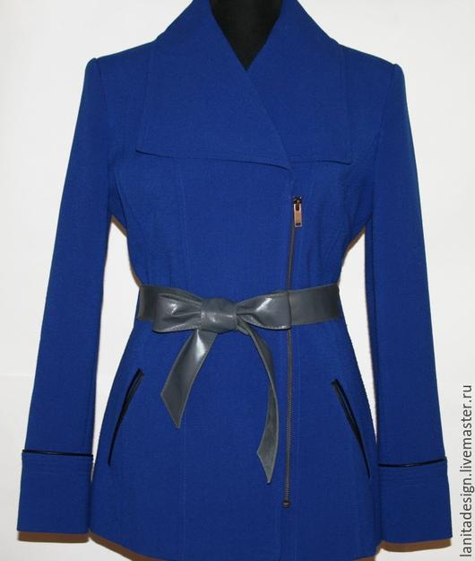 Пояса, ремни ручной работы. Двусторонний кожаный пояс `Twin Grey 4.5`. Lanita Design. Ярмарка Мастеров.