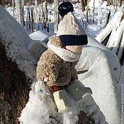 Вальдорфские куклы и звери ручной работы. Ярмарка Мастеров - ручная работа Малыш в зимней одежде. Handmade.