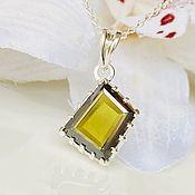 Украшения handmade. Livemaster - original item Diamond pendant