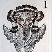 Картины и панно ручной работы. Ярмарка Мастеров - ручная работа Девушки Рыцари. Handmade.
