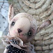 Куклы и игрушки ручной работы. Ярмарка Мастеров - ручная работа Свен, учёный заяц. Handmade.