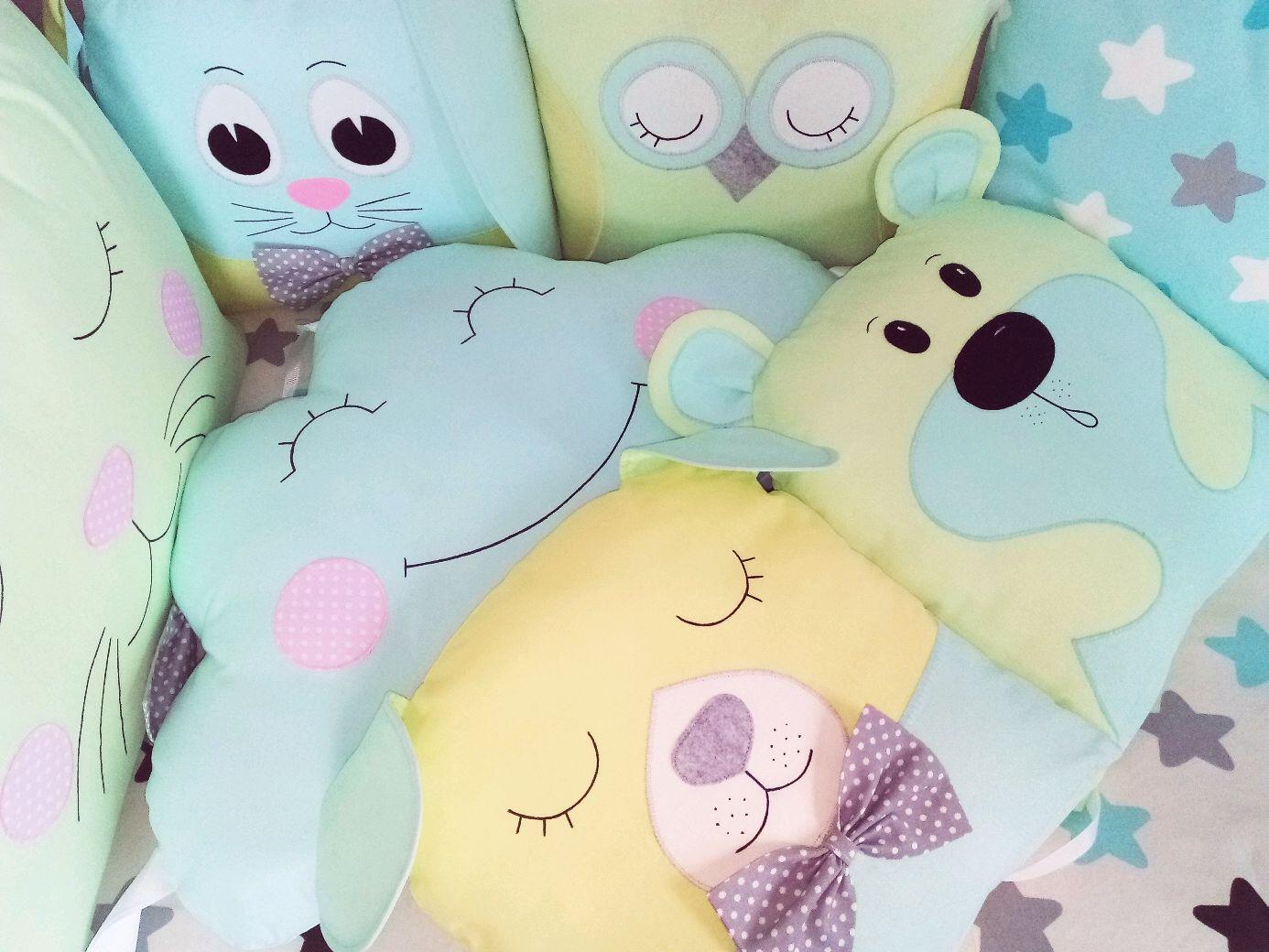Бортики в кроватку зверюшки, Бортики в кроватку, Барнаул,  Фото №1