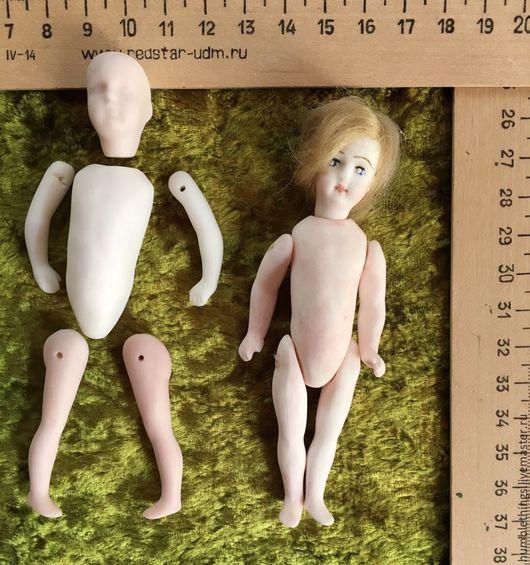 Куклы и игрушки ручной работы. Ярмарка Мастеров - ручная работа. Купить полный фарфоровый набор для изготовления куколки BRU. Handmade.