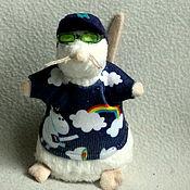 handmade. Livemaster - original item Cute swag mouse with unicorn jersey t-shirt. Handmade.