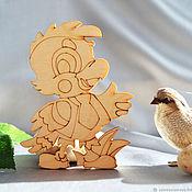 Материалы для творчества handmade. Livemaster - original item Kesha parrot, a blank for creativity. Handmade.