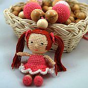 Одежда ручной работы. Ярмарка Мастеров - ручная работа Слингобусы с куколкой Розочка. Handmade.