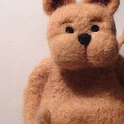 """Куклы и игрушки ручной работы. Ярмарка Мастеров - ручная работа Игрушка """"Котик Бегемотик"""". Handmade."""
