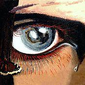 Картины и панно ручной работы. Ярмарка Мастеров - ручная работа Глаз орла. Handmade.