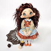 Куклы и игрушки ручной работы. Ярмарка Мастеров - ручная работа Текстильная коллекционная кукла Ангелика. Handmade.