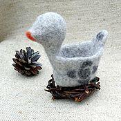 Сувениры и подарки handmade. Livemaster - original item Ethnic duck Khas, with a nest. Handmade.