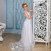 """Свадебный салон ручной работы. Ярмарка Мастеров - ручная работа Свадебное платье """"Ледяные розы"""". Handmade."""