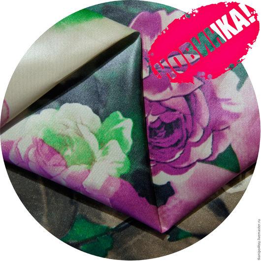 Шитье ручной работы. Ярмарка Мастеров - ручная работа. Купить Курточная ткань MIU-43/fiori. Handmade. Купить ткани