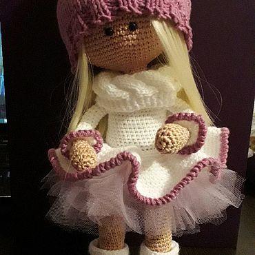 Для дома и интерьера ручной работы. Ярмарка Мастеров - ручная работа Кукла вязаная интерьерая. Handmade.