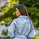 Верхняя одежда ручной работы. Жакет  из шерсти Голубая дымка. Oksana Sokolova (woolhandmade). Ярмарка Мастеров. Куртка из шерсти