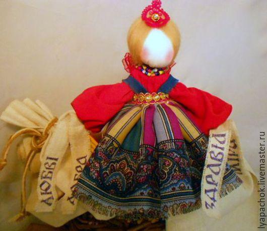 Народные куклы ручной работы. Ярмарка Мастеров - ручная работа. Купить Желанница краса - кукла оберег желаний. Подарок на Новый год 2016. Handmade.