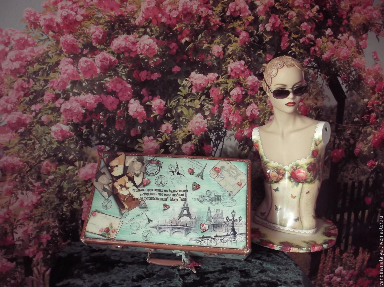 suitcase 'paris secrets', Organizer, Balakovo,  Фото №1