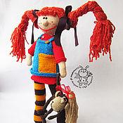 """Материалы для творчества ручной работы. Ярмарка Мастеров - ручная работа Мастер-класс """"Кукла Пеппи"""". Handmade."""