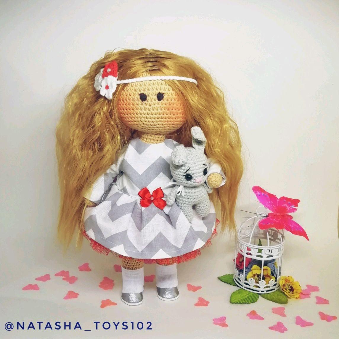 Вязаная кукла, Куклы и пупсы, Нефтекамск,  Фото №1
