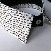 Аксессуары handmade. Livemaster - original item Copy of `Printed` collar. Handmade.