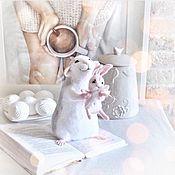 Куклы и игрушки ручной работы. Ярмарка Мастеров - ручная работа Авторская игрушка Крыска. Handmade.