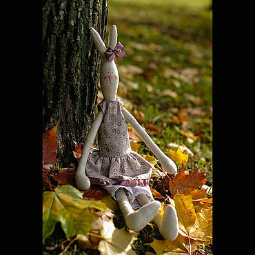 Куклы и игрушки ручной работы. Ярмарка Мастеров - ручная работа Тильды: Зайчик. Handmade.