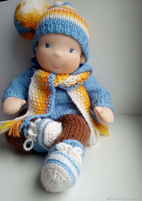 Вальдорфская кукла- Мальчишка, Вальдорфские куклы и звери, Кострома,  Фото №1