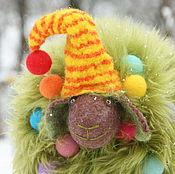 Куклы и игрушки handmade. Livemaster - original item R. Lamb tree with music. Game wool. New year tree. Handmade.