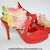 """Украшения ручной работы. Ярмарка Мастеров - ручная работа Заколки для обуви """"Italy"""" (Италия). Handmade."""