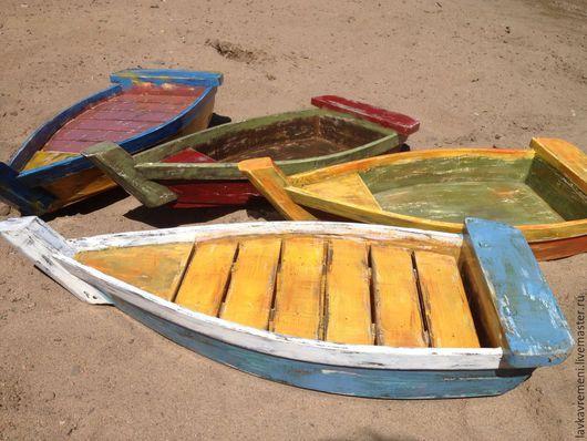 """Кухня ручной работы. Ярмарка Мастеров - ручная работа. Купить блюдо """"Старая лодка"""". Handmade. Морской стиль, блюдо для суши"""