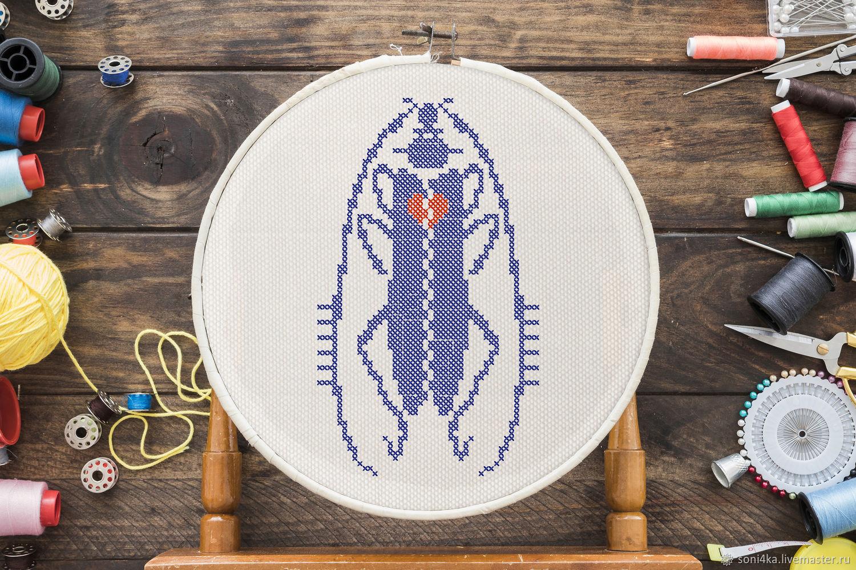 """""""Насекомые"""": 8 схем для вышивки крестиком / вязания, Схемы для вышивки, Омск,  Фото №1"""