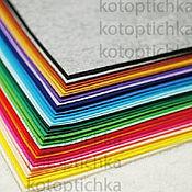 Материалы для творчества ручной работы. Ярмарка Мастеров - ручная работа Фетр жесткий 36 цветов 1,2мм, Корея. Handmade.