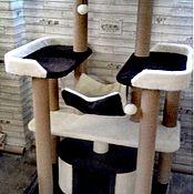 Когтеточки ручной работы. Ярмарка Мастеров - ручная работа Комплекс для крупных кошек номер  11. Handmade.